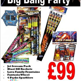 Big Bang Fireworks Party Pack From Cardiff Fireworks