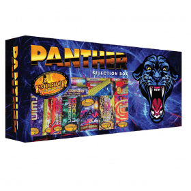Panther Selection Box Available From www.fireworks-cardiff.co.uk