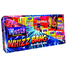 Whizz Bang Selection Box Available From www.fireworks-cardiff.co.uk