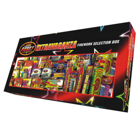 Extravaganza Selection Box Available From www.fireworks-cardiff.co.uk