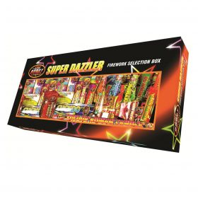 Super Dazzler Selection Box Available From www.fireworks-cardiff.co.uk