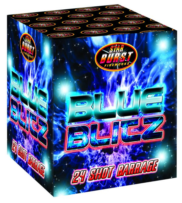 Blue Blitz Available From www.fireworks-cardiff.co.uk