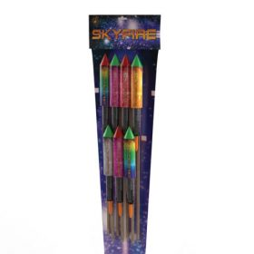 Sky Fire Rockets Available From Cardiff Fireworks