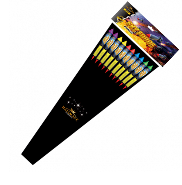 Sky Wars Rockets From Hallmark Fireworks Available From Cardiff Fireworks